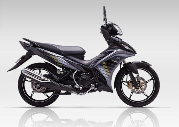 Yamaha Exciter bản RC 2014 có thêm màu đen và bộ tem hoàn toàn mới.
