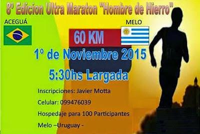 60k Ultramaratón Aceguá - Melo (01/nov/2015)