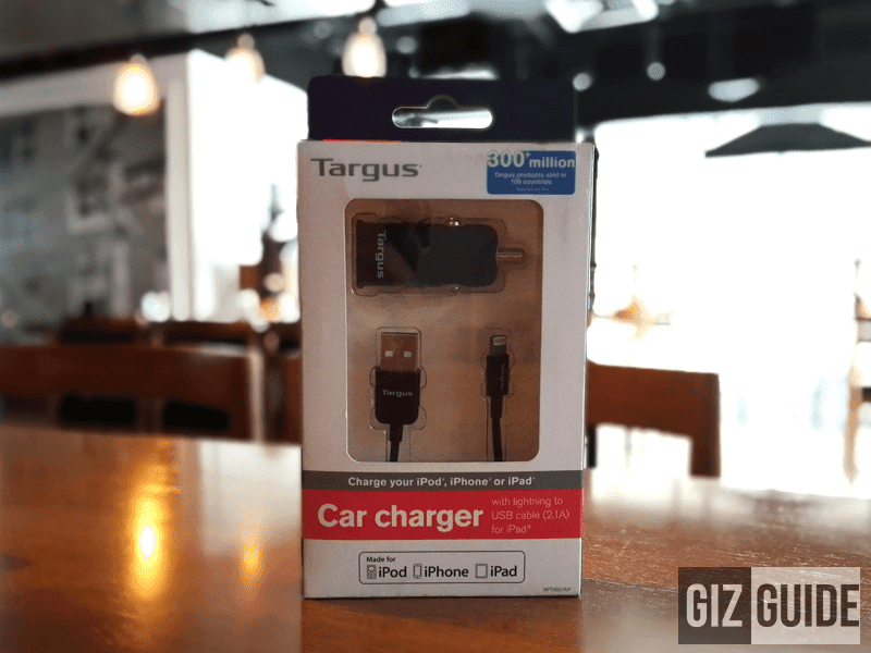 Targus Car Charger For iPad, iPhone And iPod Quick Review!