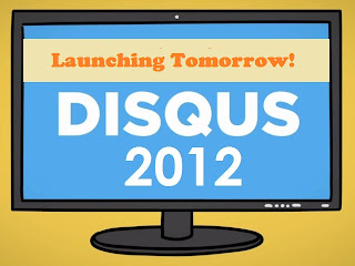 Disqus 2012 launching tomorrow