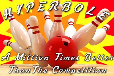 Hyperbole - A million times better than the competition