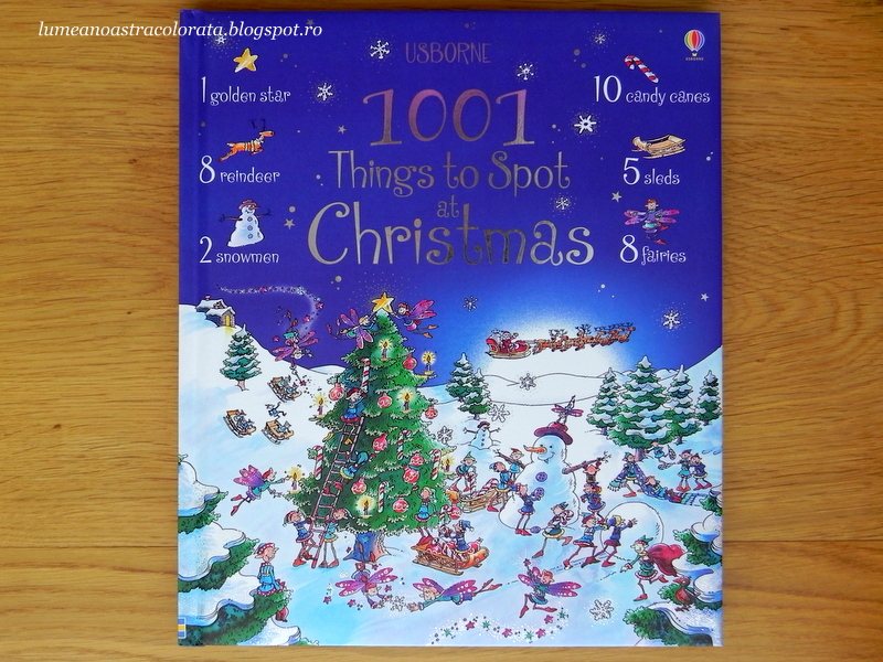 1001 Things to Spot at Christmas editura Usborne
