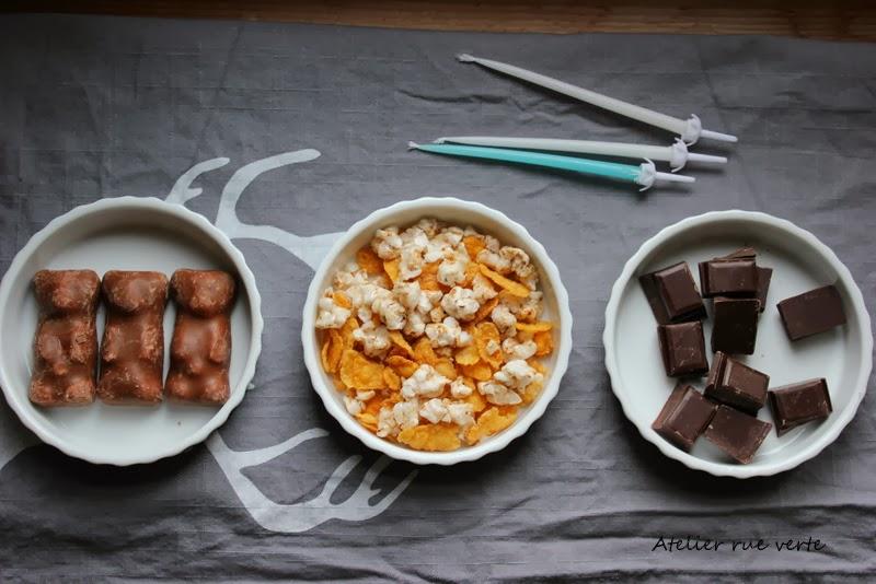 Gâteau régressif, oursons guimauve Photos Atelier rue verte