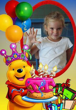 Marta ya tiene 5 añitos ¡¡Feliz cumpleaños princesa!!