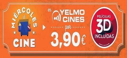miércoles al cine en Yelmo Cines Vigo
