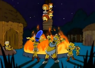 pagan simpsons