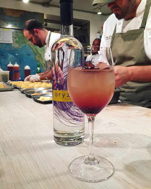 The Damn Thistle made with Oryza Vodka