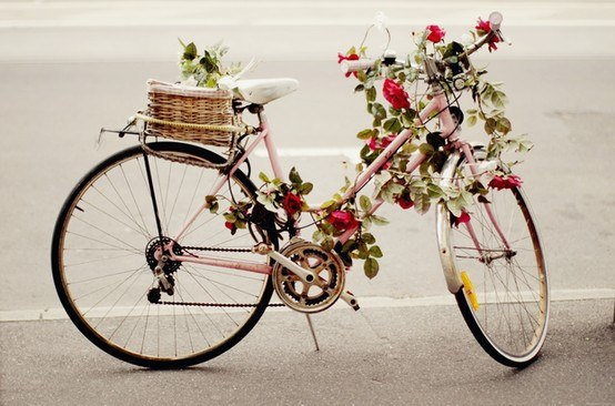 retro bike decor ~ home decorating ideas