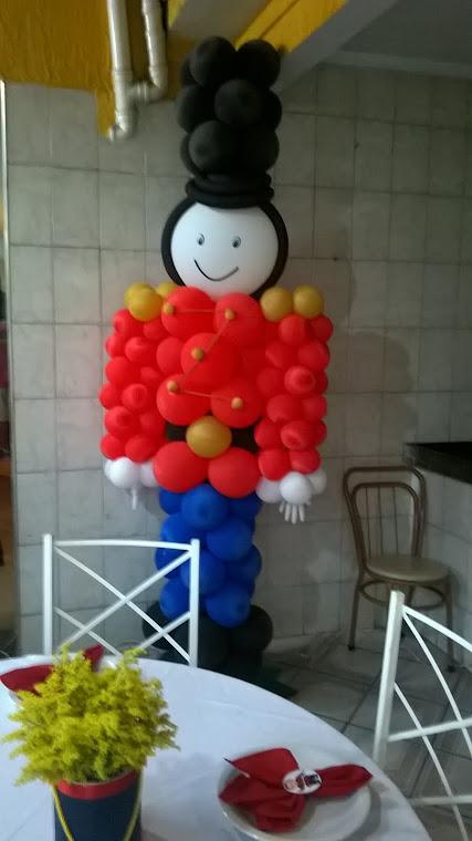 Soldado da Inglaterra de Balão