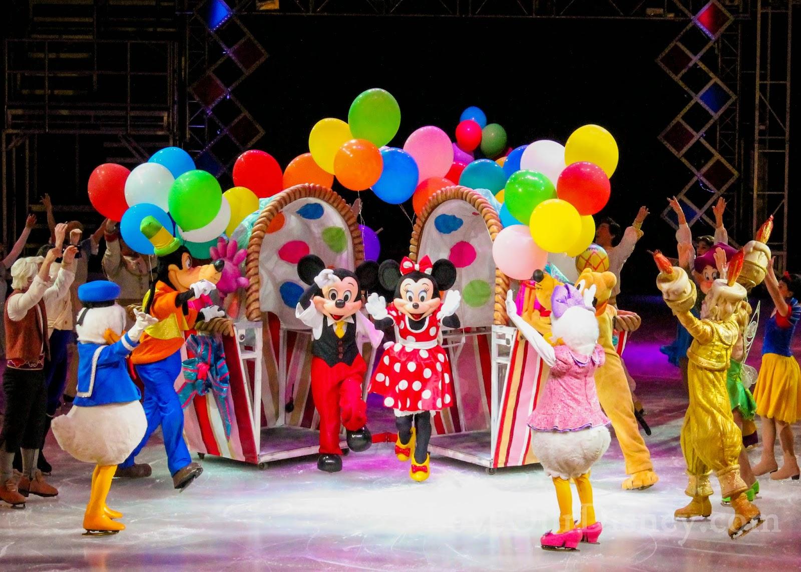 LoveOurDisney.com reviews Disney On Ice presents Let's Celebrate!