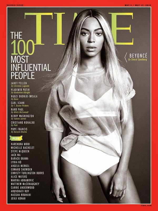 Beyonce, Miley Cyrus, Time magazine, 100 most influential people list, celebrity gossip,