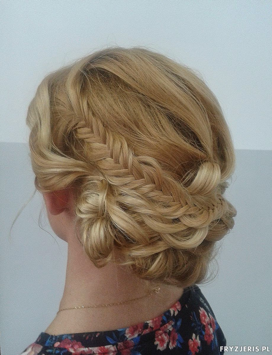 fryzura na wesele