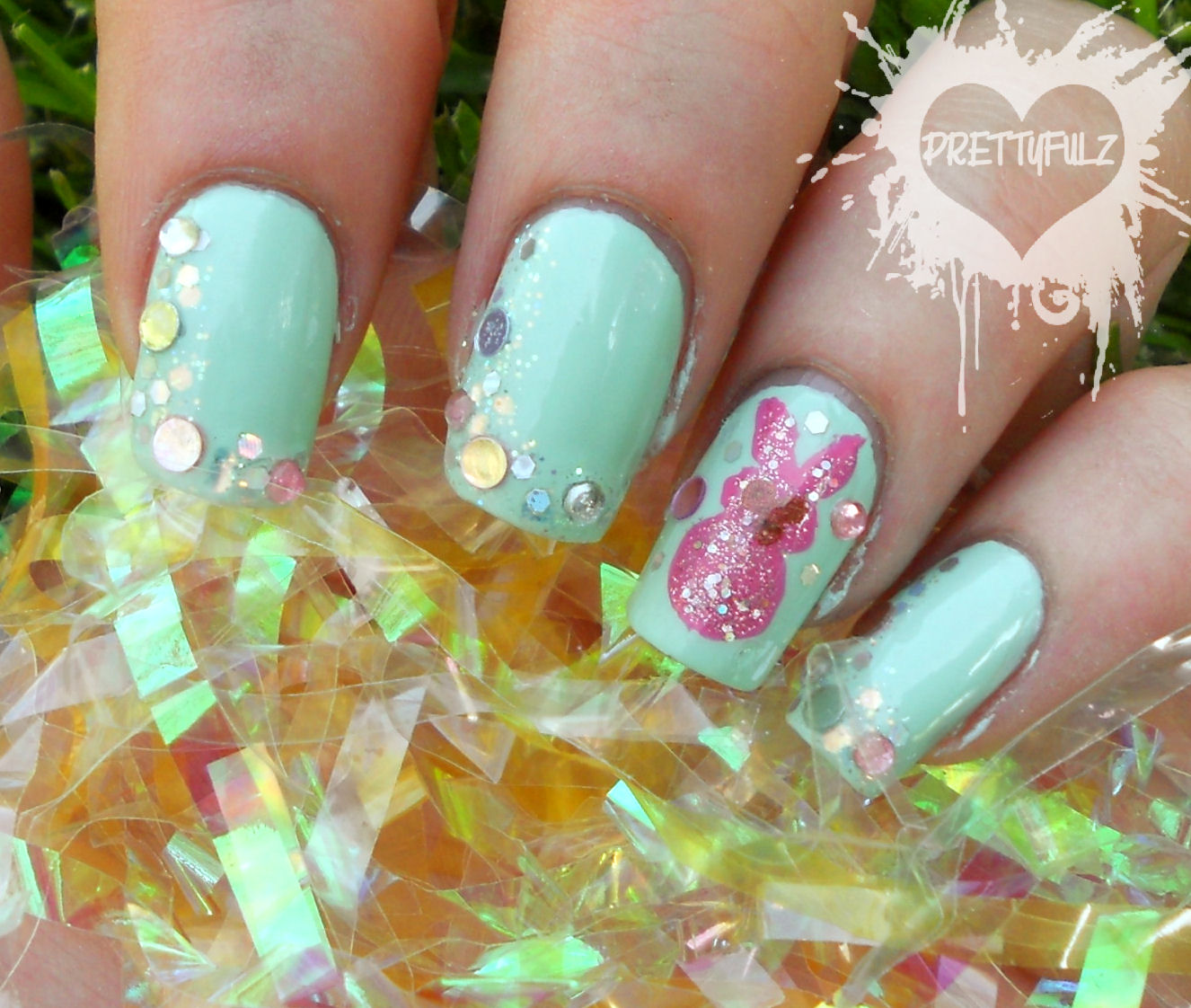 The Cool Cute pink nail designs love Pics