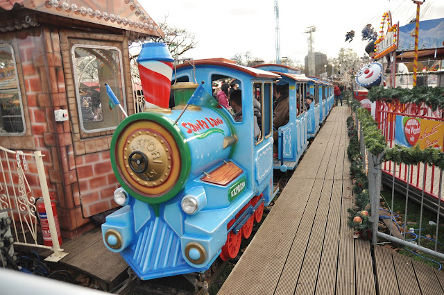 Winter Wonderland Hyde Park train