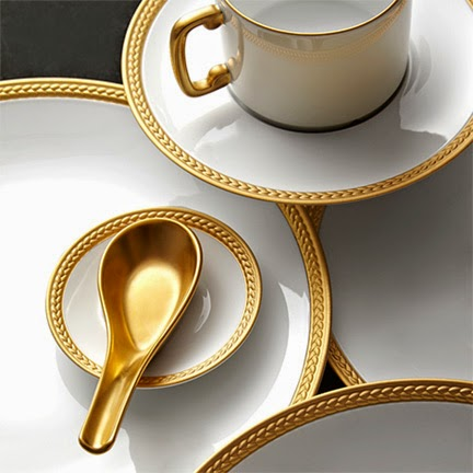 L'Objet Soie Tressée dinnerware Collection