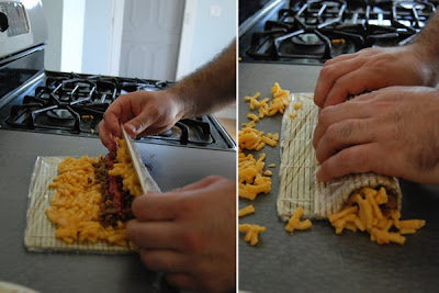 Macaroni And Cheese Sushi Rolls Seen On www.coolpicturegallery.us