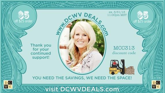 Dcwv deals coupons