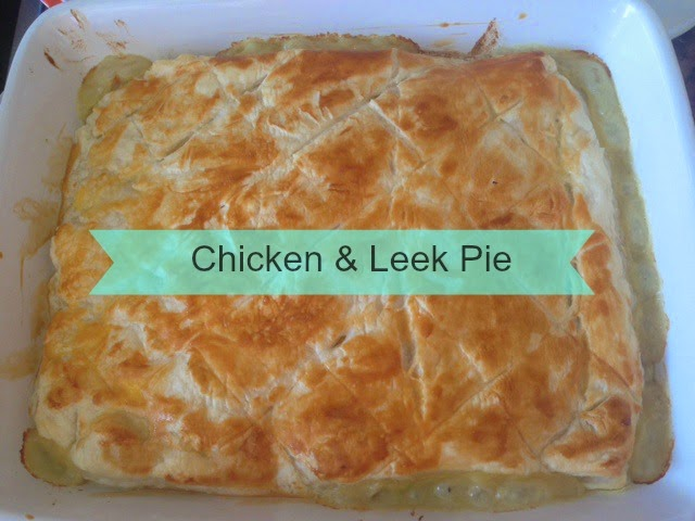 Jamie Oliver Chicken Pie