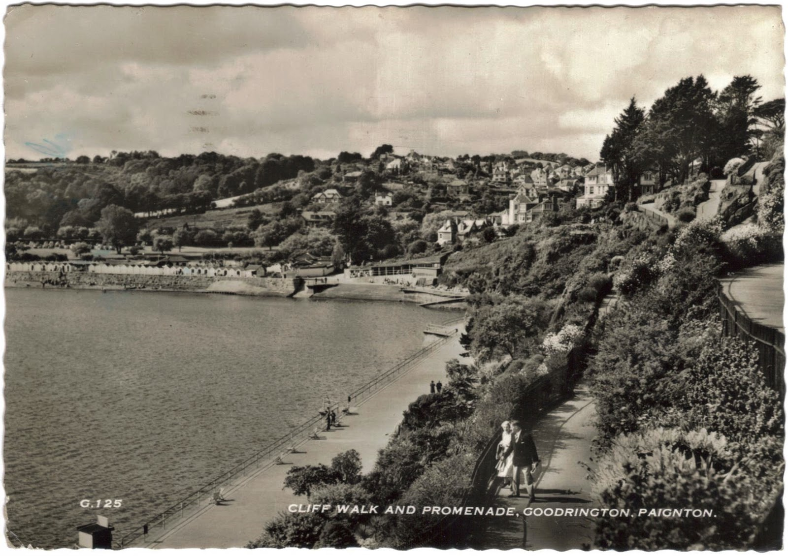 Postcard Goodrington, Devon