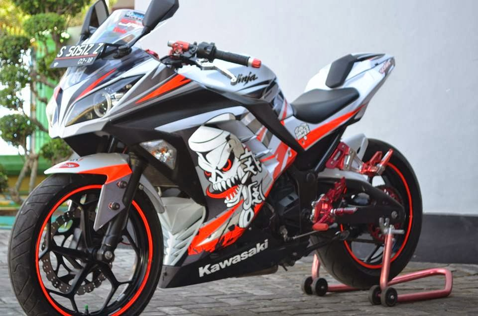 referensi modifikasi motor ninja 250 fi