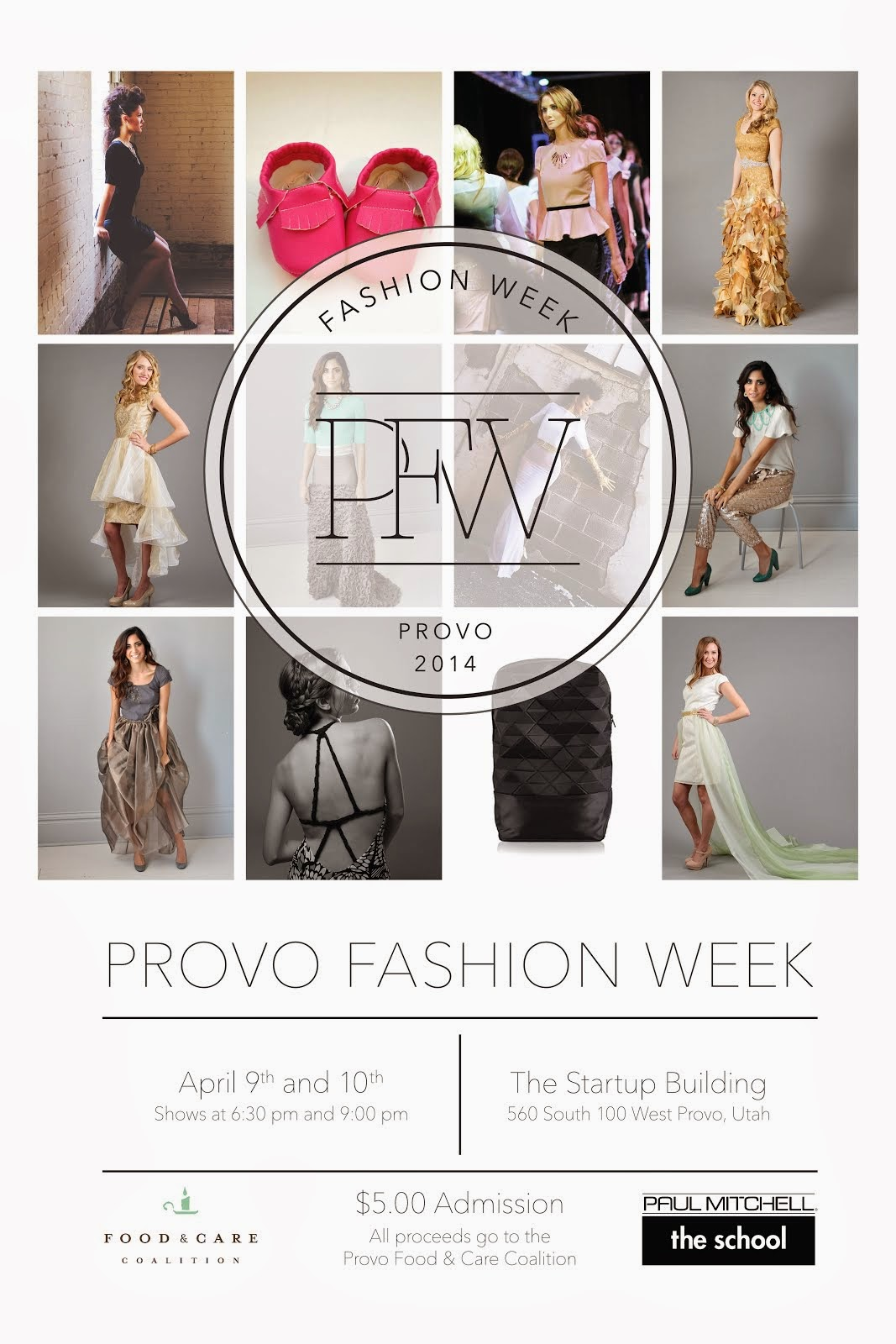 PFW: April 9th - Upcoming Fashion Show!