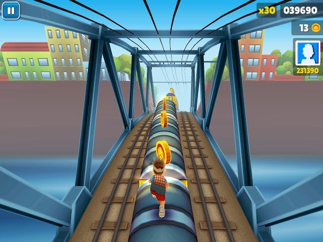 Subway Surfers Bilgisayar Oyunu - PC indirmek icin tiklayiniz