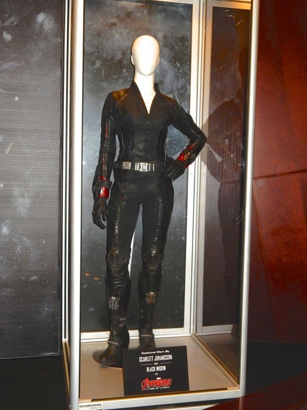 Black Widow movie costume Avengers Age of Ultron