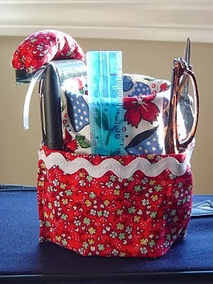 suction cup sewing caddy