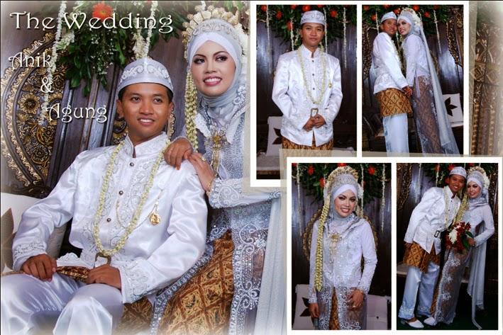 wedding fotografer pernikahan di jogja  dengan gaun pengantin adat jawa