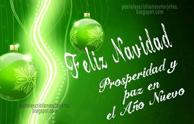 imagenes navidad cristiana tarjeta prosperidad año nuevo 2014
