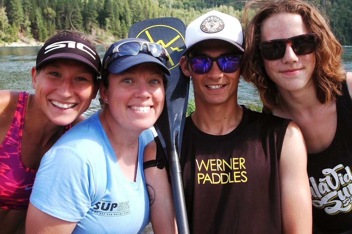 Kootenay River SUP Race - July 2014