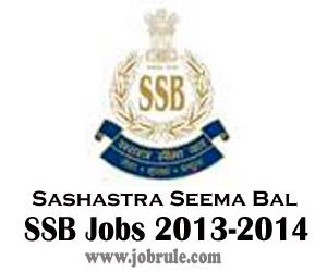 Assistant Sub Inspector (ASI-Stenographer) Jobs in Sashastra Seema Bal (SSB) 2013