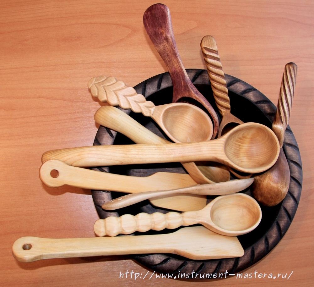 Деревянная кухонная посуда