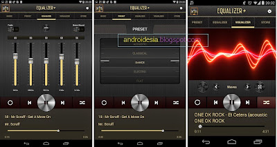 Aplikasi Terbaik : Equalizer+ MP3 player volume