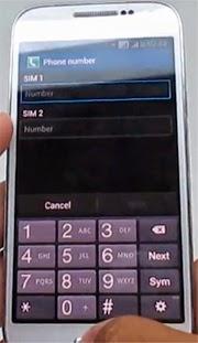 Карточки в Samsung GT-I9192 Galaxy S4 mini Duos