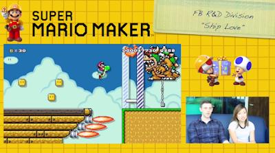 Super Mario Maker Facebook hackathon Ship Love winning level