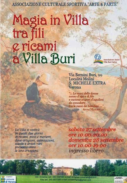 27-28 settembre magie in villa s.Michele Extra, Verona