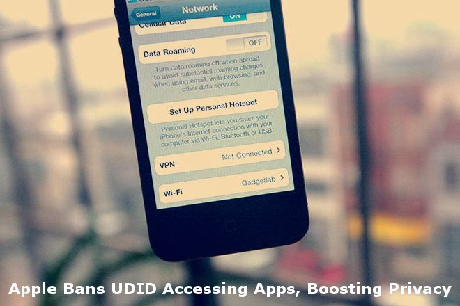 UDID Accessing Apps