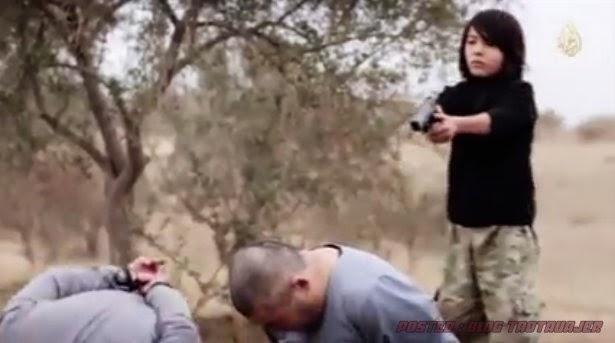 SERIUS Video Budak ISIS Tembak Mati 2 Perisik Rusia Tersebar