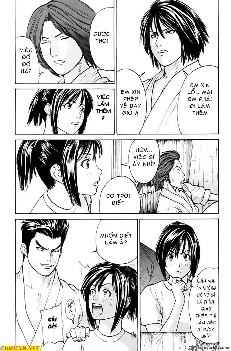 Karate Shoukoushi Kohinata Minoru chap 33 Trang 10