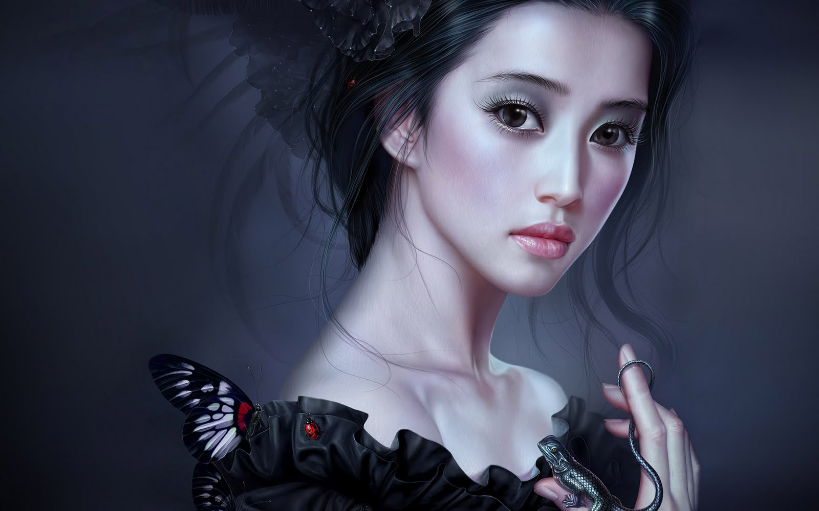 Japanese Girl Fantasy Wallpaper Asian With