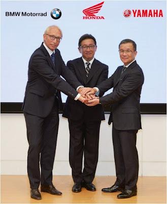 Συνεργασία Honda, BMW Motorrad και Yamaha για αναβάθμιση της ασφάλειας των μηχανοκίνητων δικύκλων