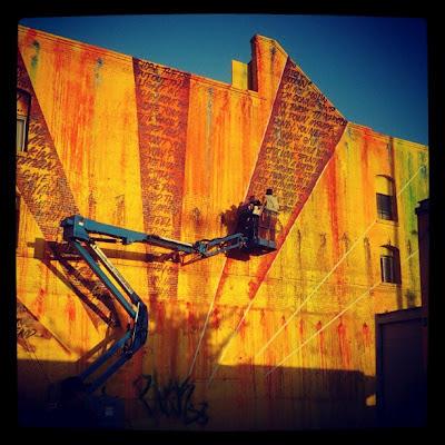 Street artist Risk (C) 2012 Glenn Primm Photography
