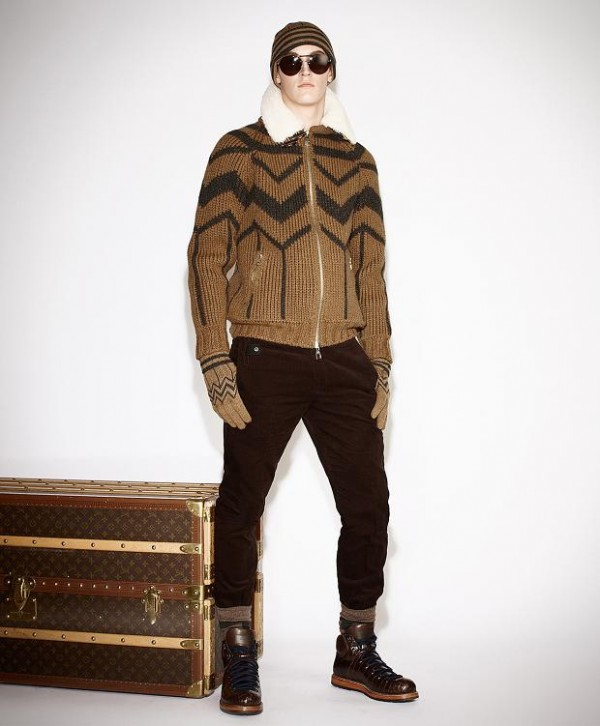 6 moda winter clothes for men in the winter of 2013