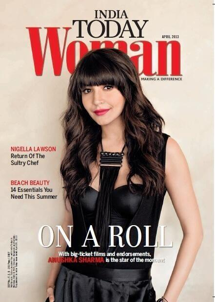 Anushka Sharma Sizzling Photo Shoot on India Today Woman April issue