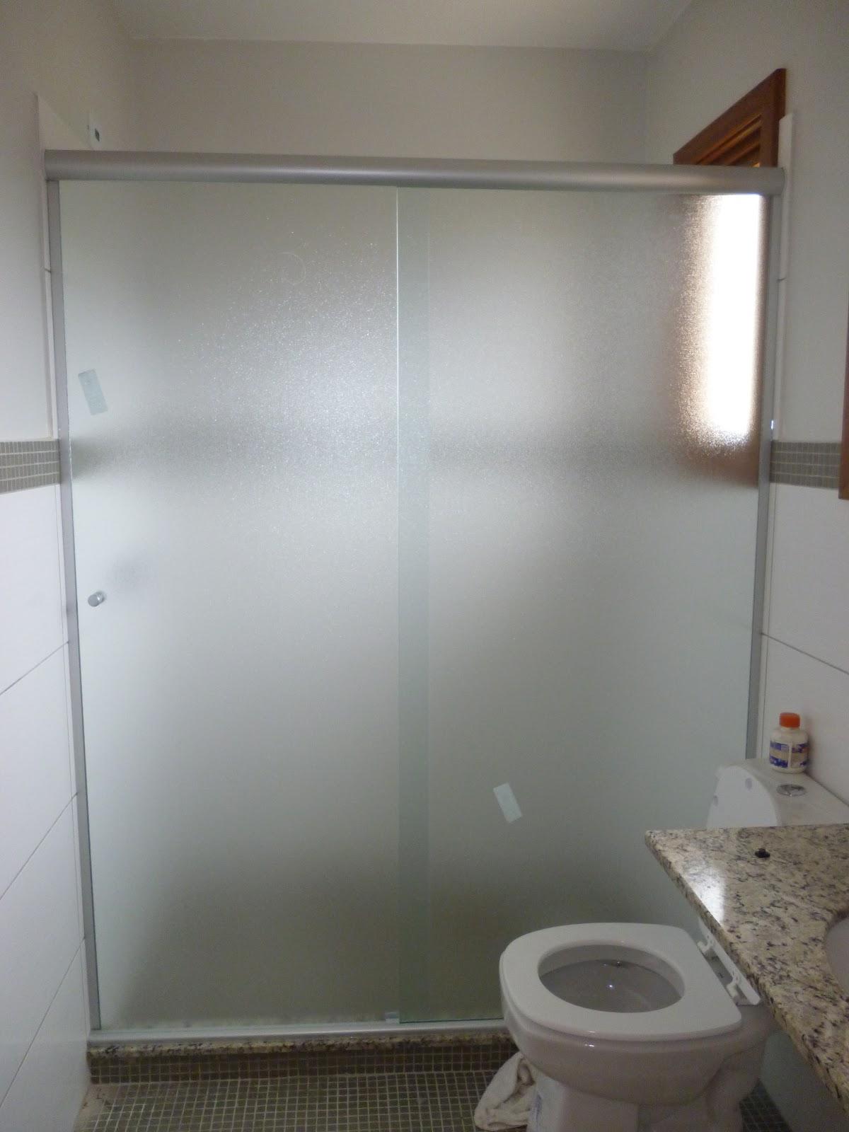 Box vidro pontilhado 8 mm acabamento fosco e box liso #746357 1200x1600 Banheiro Container Sp