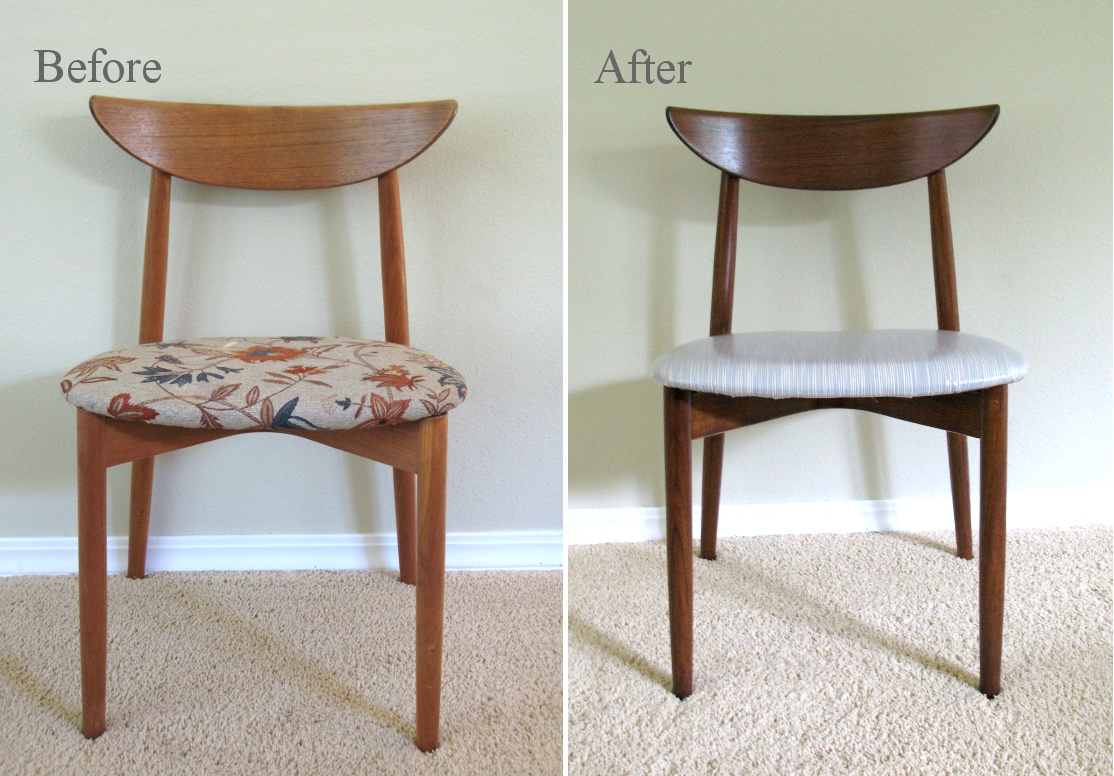 My Mid-Century Modern Dining Chairs & Modest Maven: My Mid-Century Modern Dining Chairs