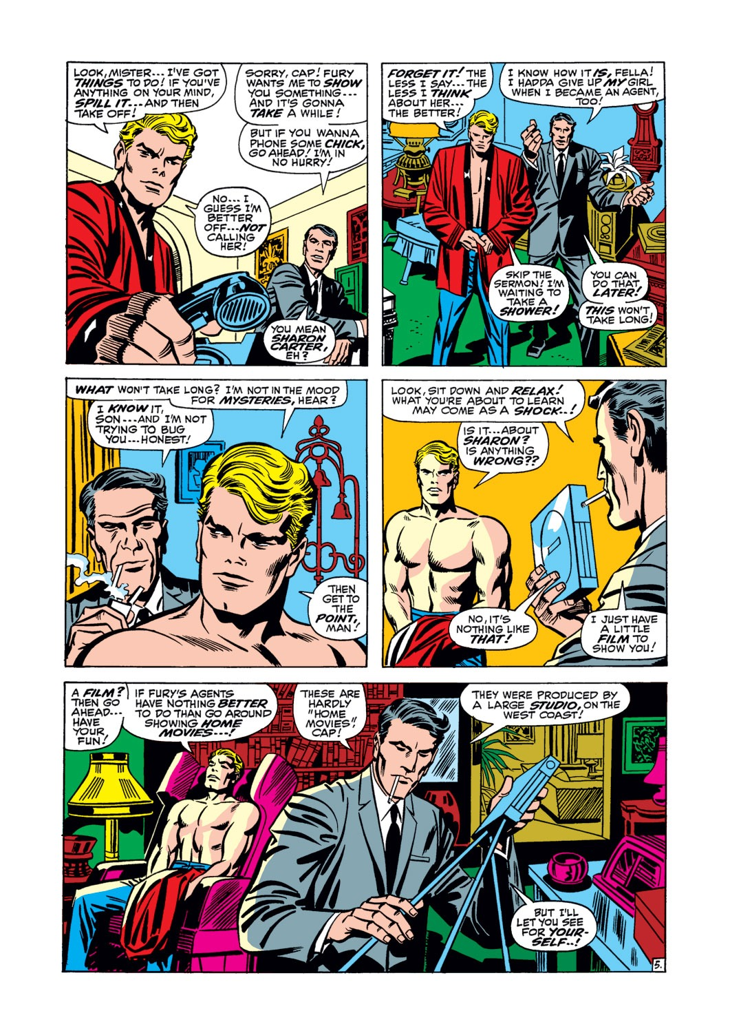 Captain America (1968) Issue #106 #20 - English 6