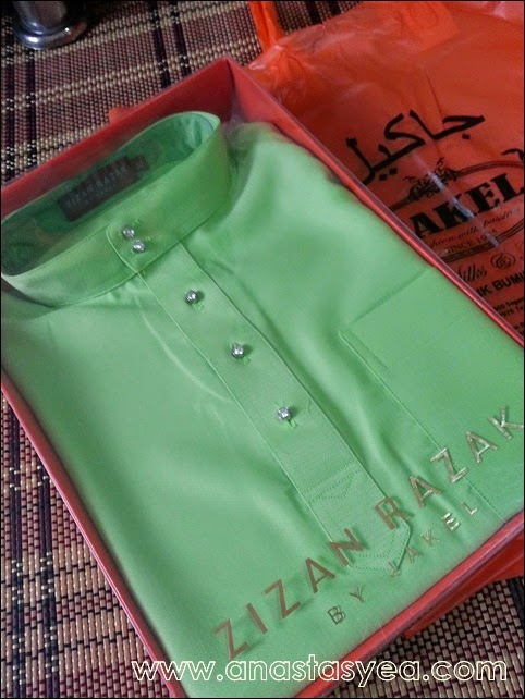 baju melayu Zizan Razak
