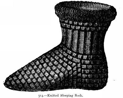 Knitting Patterns Sleeping Socks : Free Knitting Patterns: Sleeping Sock